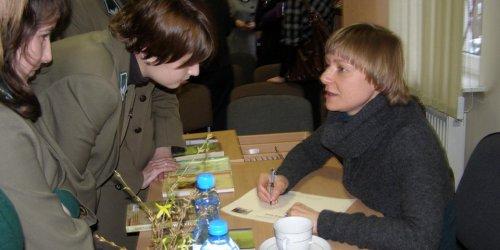2010-03-11 Spotkanie autorskie z Izabelą Sową