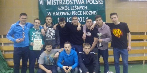 2014-03-09  VI Mistrzostwa Polski Szkół Leśnych w halowej piłce nożnej