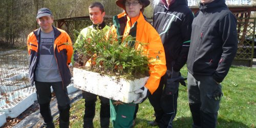 2015-04-25 Drogi do natury 2015 - kolejna wizyta szkoły niemieckiej