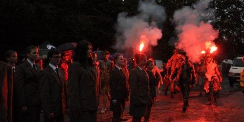 """2015-09-26 """"Dla leśników parasolem jest las"""" – Rykowisko 2015"""