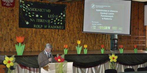"""2016-06-15 Konferencja """"Szkolnictwo leśne na terenie RDLP w Radomiu"""" w Technikum Leśnym"""