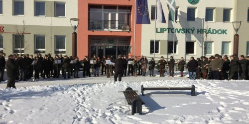 2017-01-20 Sygnaliści w Liptovskim Hrádku