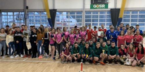 20-01-2020 Mistrzostwa Powiatu  w Piłce Siatkowej Dziewcząt i Chłopców
