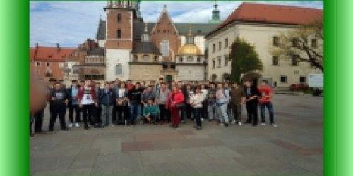 12-11-2017 Wycieczka do Krakowa klas drugich