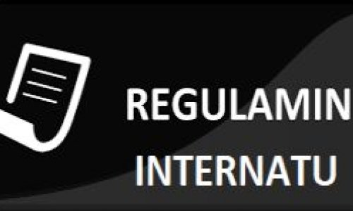 Regulamin porządkowy internatu